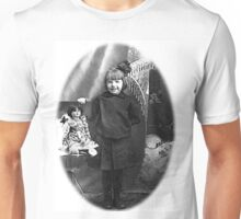 GRANDMA CELESTA ALBEE WITH DOLL 2 Unisex T-Shirt