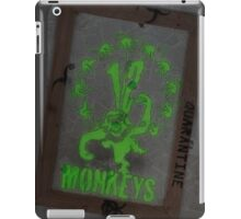 12 Monkeys Dark iPad Case/Skin