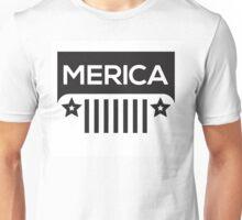 Jeep Wrangler - Merica Unisex T-Shirt