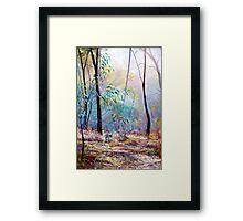 'Wickham Mist 2' Framed Print