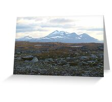 a stunning Finland landscape Greeting Card
