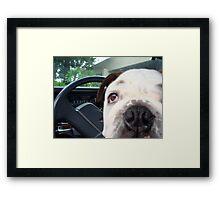 My Driver Framed Print