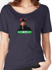 Cook Wanted Breaking Bad Women's Relaxed Fit T-Shirt