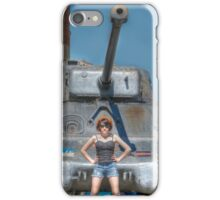 I Have a Tank.  Your Argument is Invalid iPhone Case/Skin