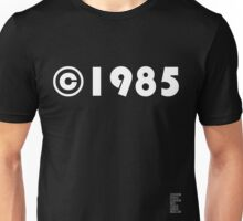 Year of Birth ©1985 - Dark variant (1) Unisex T-Shirt