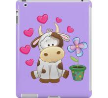 Little cow in love iPad Case/Skin