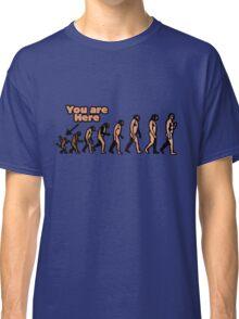 Evolution humor Classic T-Shirt
