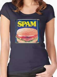 Cheap meat Women's Fitted Scoop T-Shirt