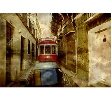 Streets Of Lisbon Photographic Print