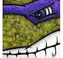 Donatello of Teenage Mutant Ninja Turtles Photographic Print