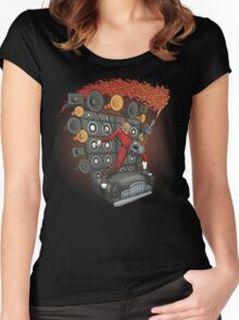 Doof Metal Women's Fitted Scoop T-Shirt