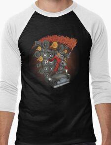 Doof Metal Men's Baseball ¾ T-Shirt