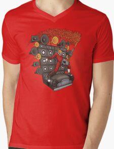 Doof Metal Mens V-Neck T-Shirt