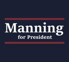 Manning for President (Giants) by jdbruegger