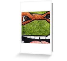 Michaelangelo of Teenage Mutant Ninja Turtles Greeting Card
