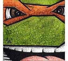 Michaelangelo of Teenage Mutant Ninja Turtles Photographic Print