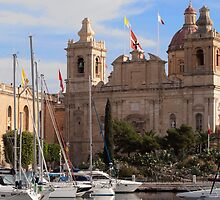St Lawrence Collegiate - Birgu - Malta by Patrick Anastasi