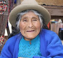 Beautiful Peruvian Lady by April-in-Texas