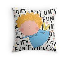 Fairy fun Throw Pillow