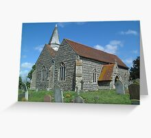 St Mary, Higham Greeting Card