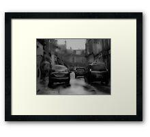 Scottish Rain Framed Print