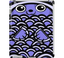 Cuddly Blue Bear iPad Case/Skin