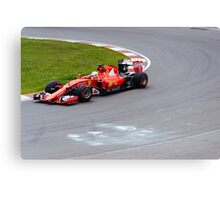Go for the Win Canvas Print