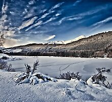 Loch Meig in Winter by Fraser Ross