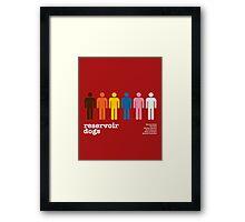 Reservoir Dogs Poster (Unfiltered) Framed Print