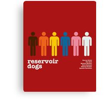 Reservoir Dogs Poster (Unfiltered) Canvas Print