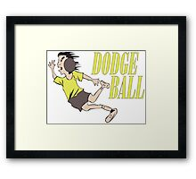 Dodge ball Framed Print