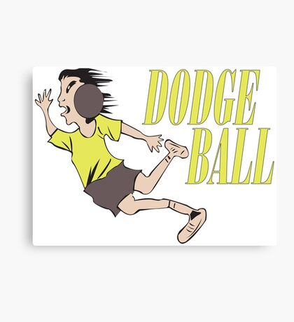 Dodge ball Canvas Print