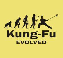 Kung- Fu Evolved Kids Tee
