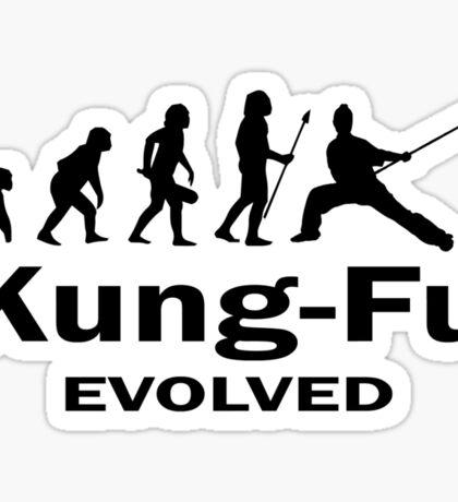 Kung- Fu Evolved Sticker