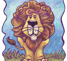 Animal Parade Lion by ImagineThatNYC