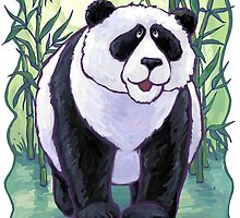 Animal Parade Panda Bear by ImagineThatNYC