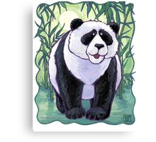 Animal Parade Panda Bear Canvas Print