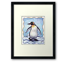 Animal Parade Penguin Framed Print