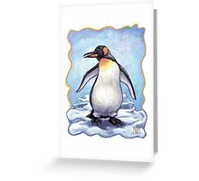 Animal Parade Penguin Greeting Card