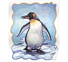 Animal Parade Penguin Poster