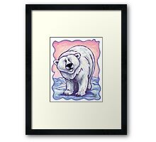 Animal Parade Polar Bear Framed Print