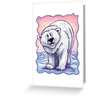 Animal Parade Polar Bear Greeting Card