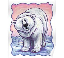 Animal Parade Polar Bear Poster