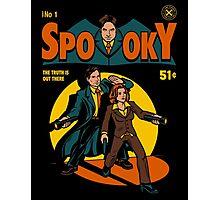 Spooky Comic Photographic Print