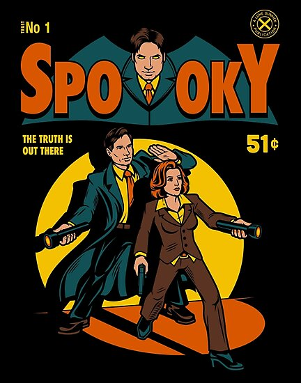 Spooky Comic by harebrained
