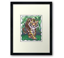 Animal Parade Tiger Framed Print
