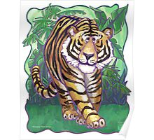 Animal Parade Tiger Poster