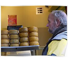 The Big Cheese. Bruges, Belgium. Poster