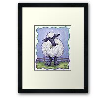 Animal Parade Sheep Framed Print