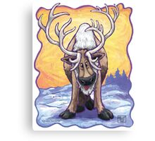 Animal Parade Reindeer Canvas Print